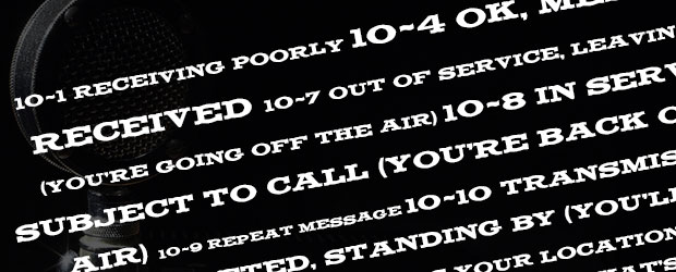 CB Radio 10 Codes