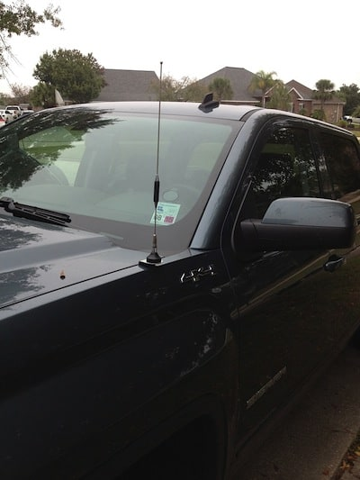 173151 2006 Dodge Ram Setup So Far furthermore 231258 2011 F150 Kenwood Tm 742a 2m 220 440 Ham Radio Install together with Lustiges further Jk Jeep Wrangler Cb Antenna Kit 2007 together with Gmc Sierra Pickup Cb Antenna Installation. on truck cb radio antenna installation