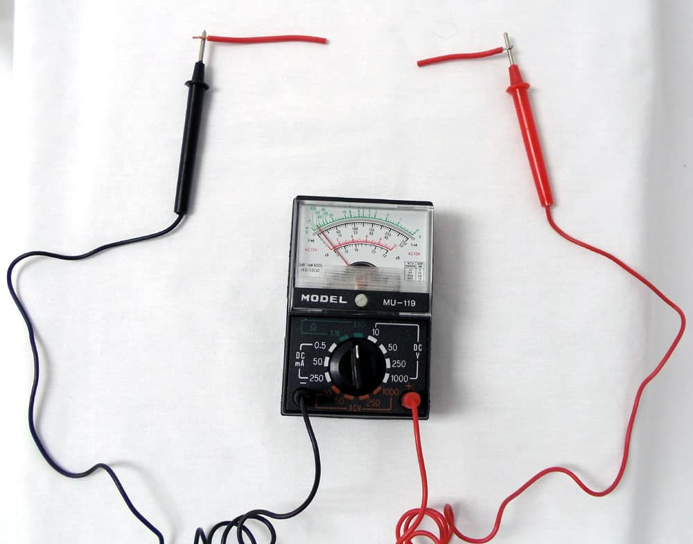 No Continuity on a Multimeter