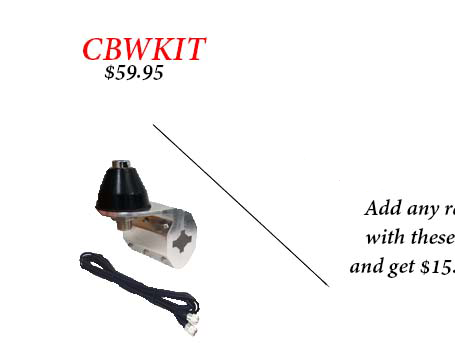 """Wilson W2Meter-B Wilson 2 Meter 5//8 Wave Magnet Mount Antenna With 48/"""" Tall Stai"""