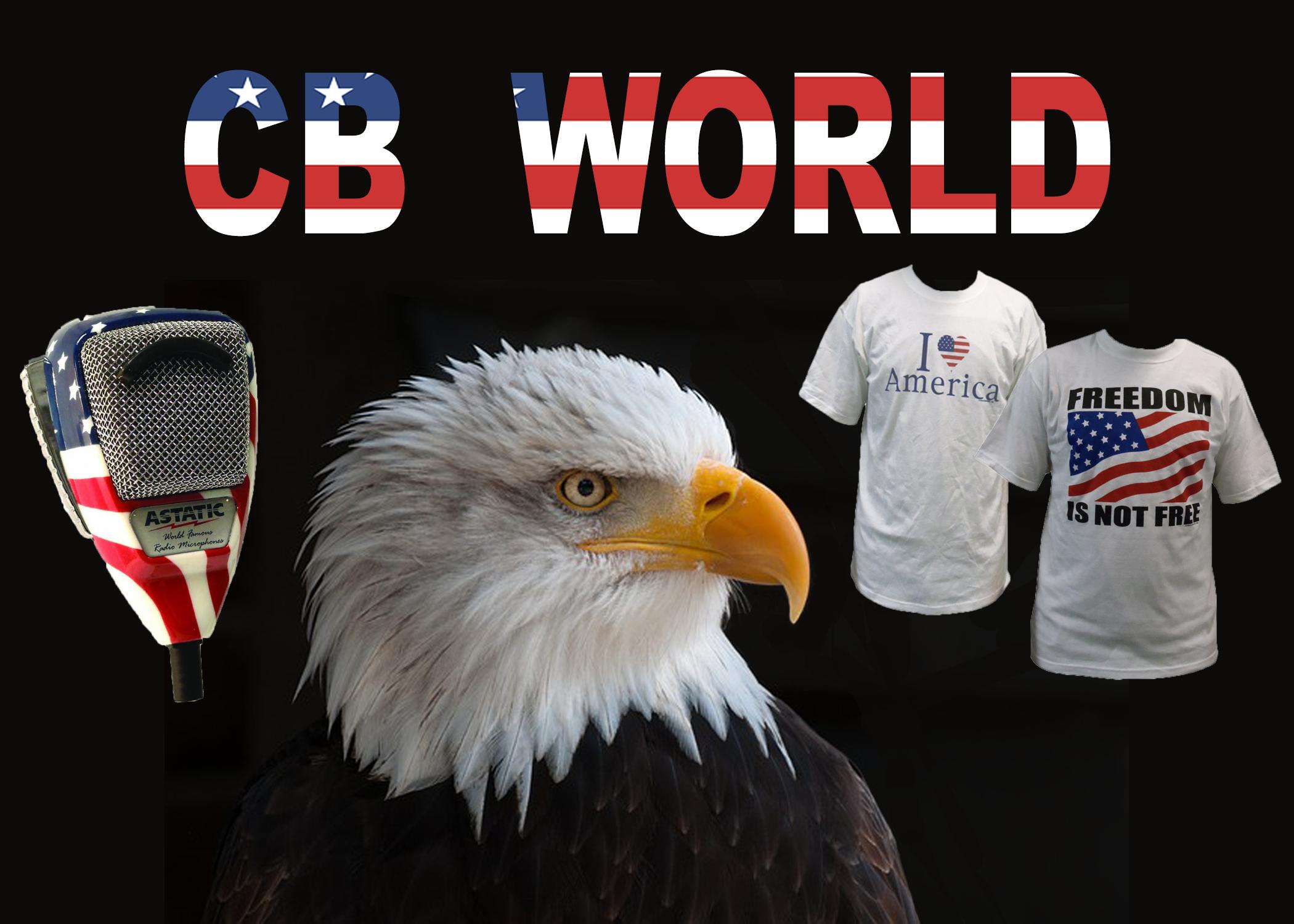 CB World Patriotism Products