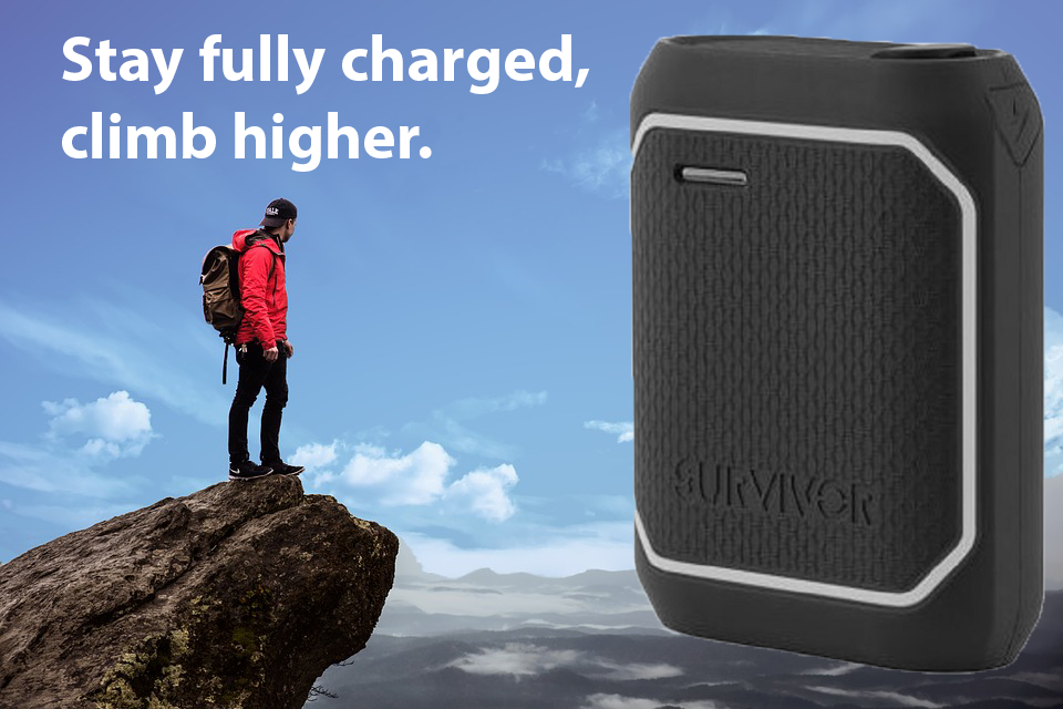 Climb Higher with a Power Bank