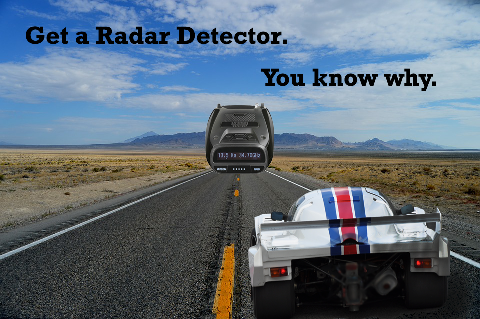 Radar Detectors at CB World