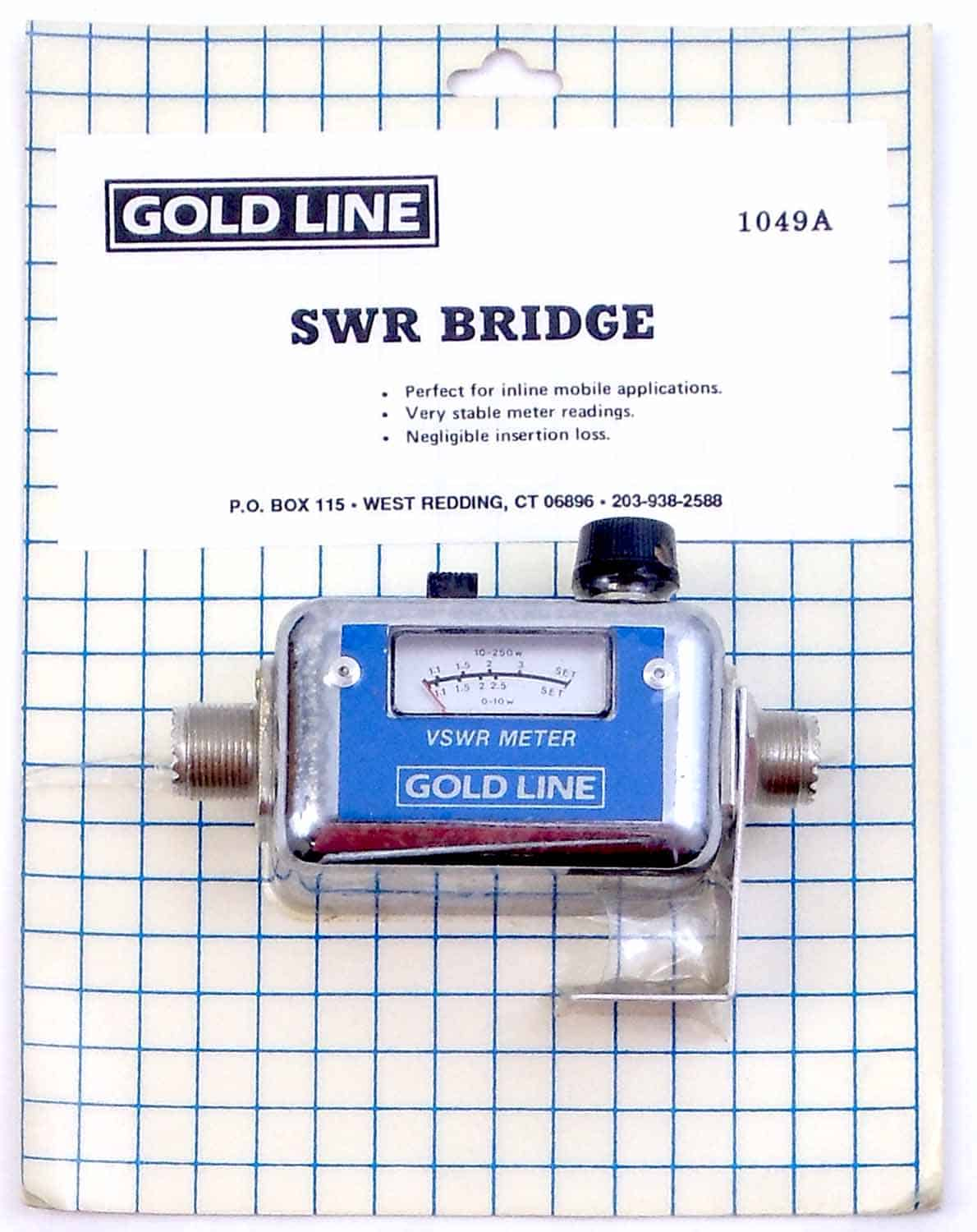 1049 - Goldline In Line Mobile Swr Bridge