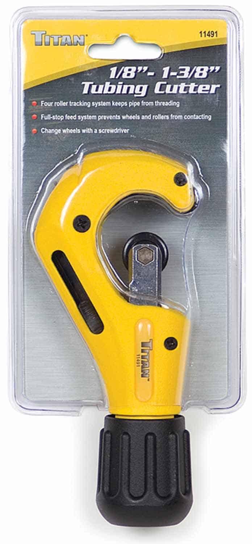 "11491 - Titan Tools 1/8"" x 1-3/8"" Tubing Cutter"