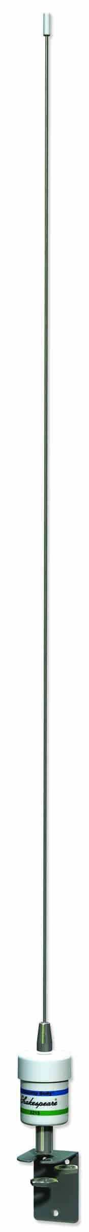 """5215 - Shakespeare 36"""" 3Db Vhf Low Profile Stainless Antenna"""