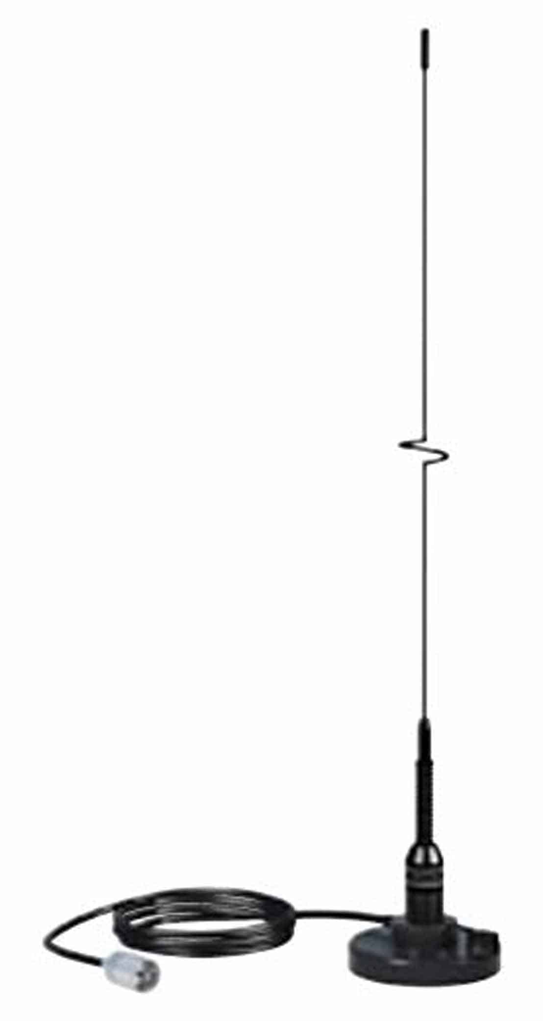 "5218 - Shakespeare Black 19"" Vhf Magnetic Mount Antenna with RG58AU Coax"