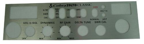030004 - Cobra® Face Plate Cobra® 29LTD Classic Radio