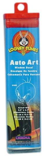 """045404 - Auto Art Looney Tunes Tweety Bird 5-1/2"""" X 6"""" Window Sticker"""