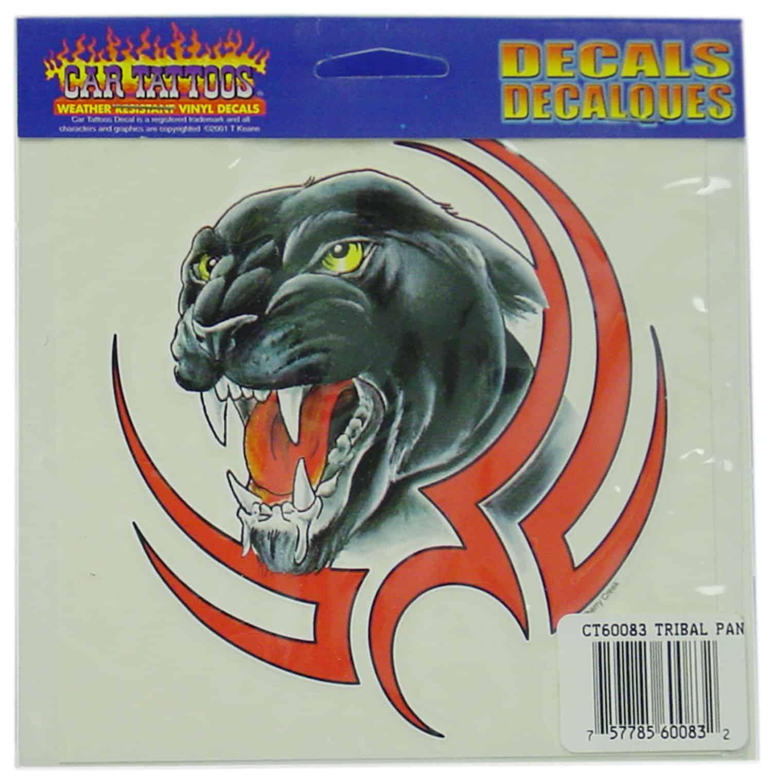 04560083 - Tribal Panther Vinyl Car Decal