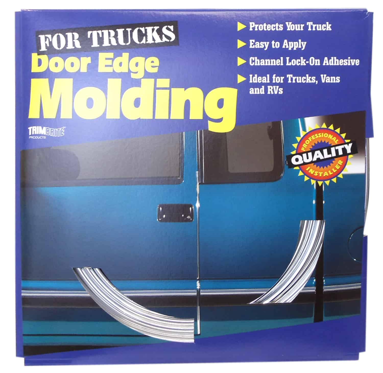 """0485505 - 3/8"""" X 25' Chrome Door Edge Molding"""