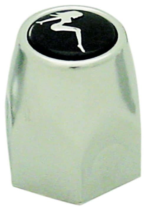 0486310L - Chrome Sitting Lady Bullet Lug Nut Cover