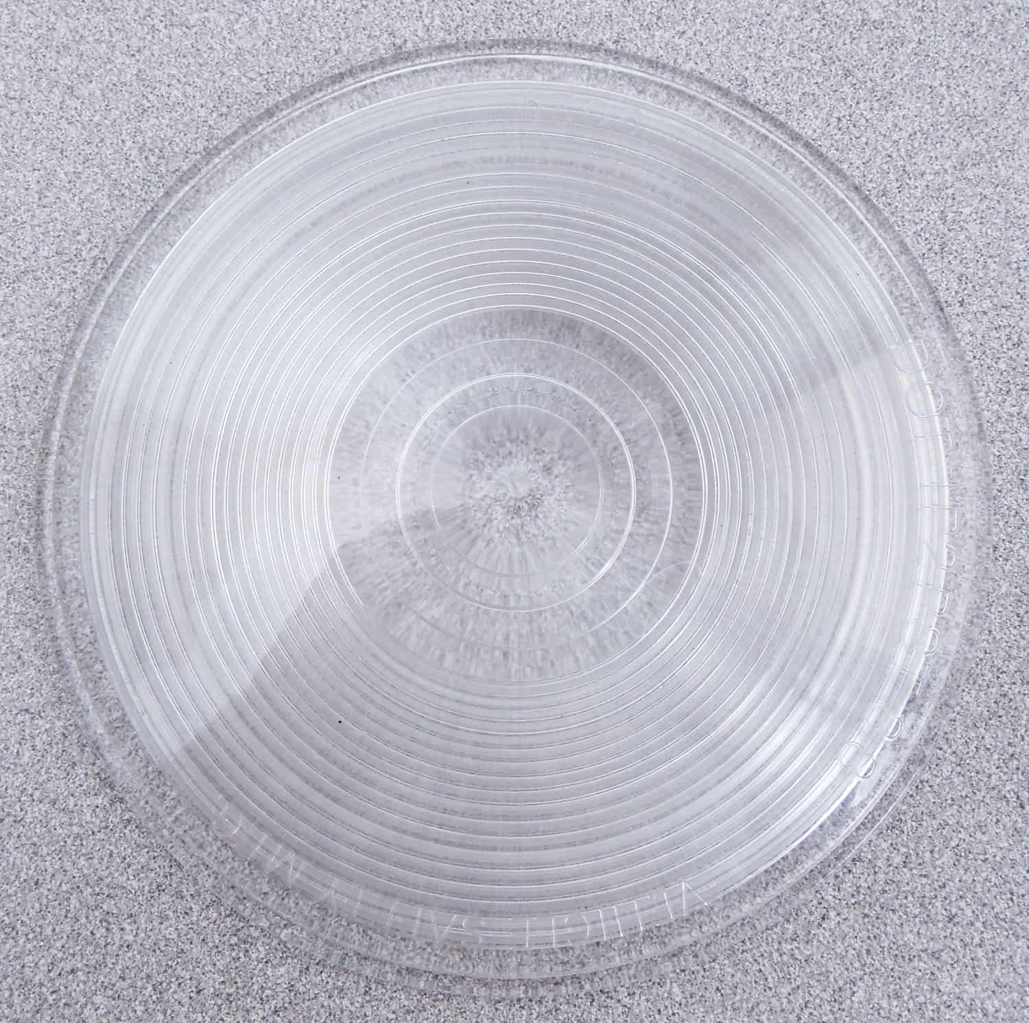 """04941015W - 4-1/4"""" Round Clear Replacement Lens Cover"""