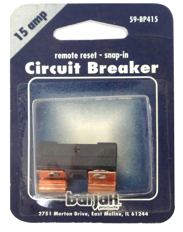059BP415 - Remote Reset 15 Amp Circuit Breaker