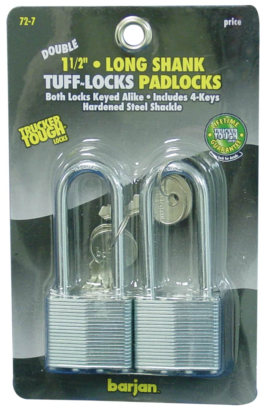 "0727 - 2-1/2"" Long Steel Shackle Padlock"
