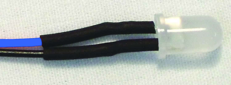 "12VLED-5-B - EKL 10Pk. 5mm 12 Volt Led W/10"" Leads (Blue)"