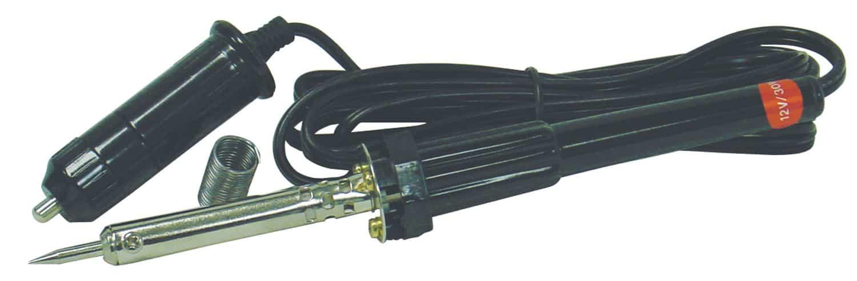 """36041 - Diesel 12 Volt 30 Watt Soldering Iron With 24"""" Of Resin Solder"""