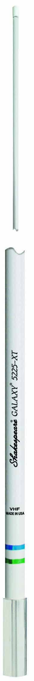 5225-XT - Shakespeare 8' Galaxy Vhf Antenna 6Db W/Stainless Steel Ferrule