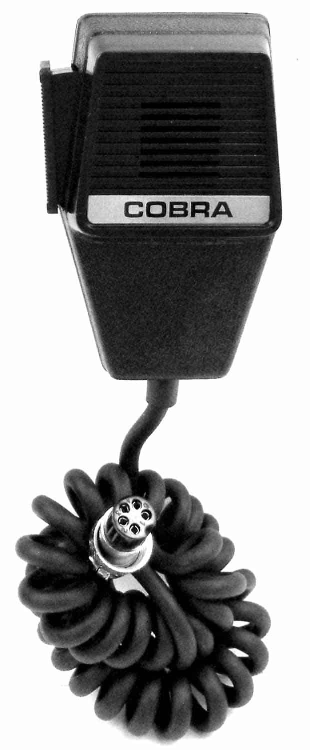 5620249001 - Cobra® 5 Pin Replacement Microphone with 6' Cord