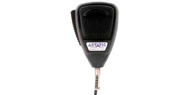 636L-4B - Astatic Noise Canceling 4 Pin Microphone (Clamshell)