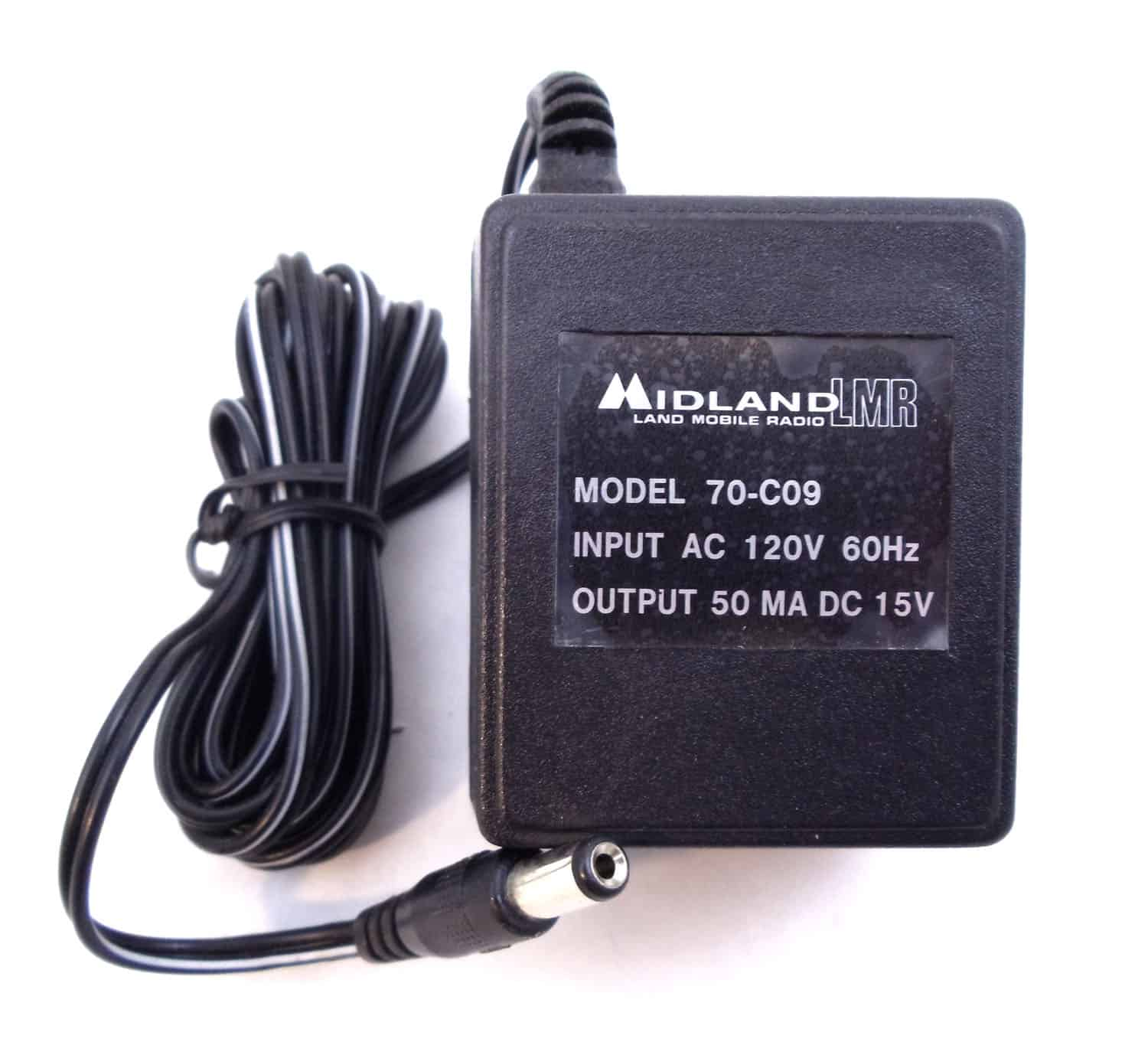 70C09 - Midland AC Wall Charger
