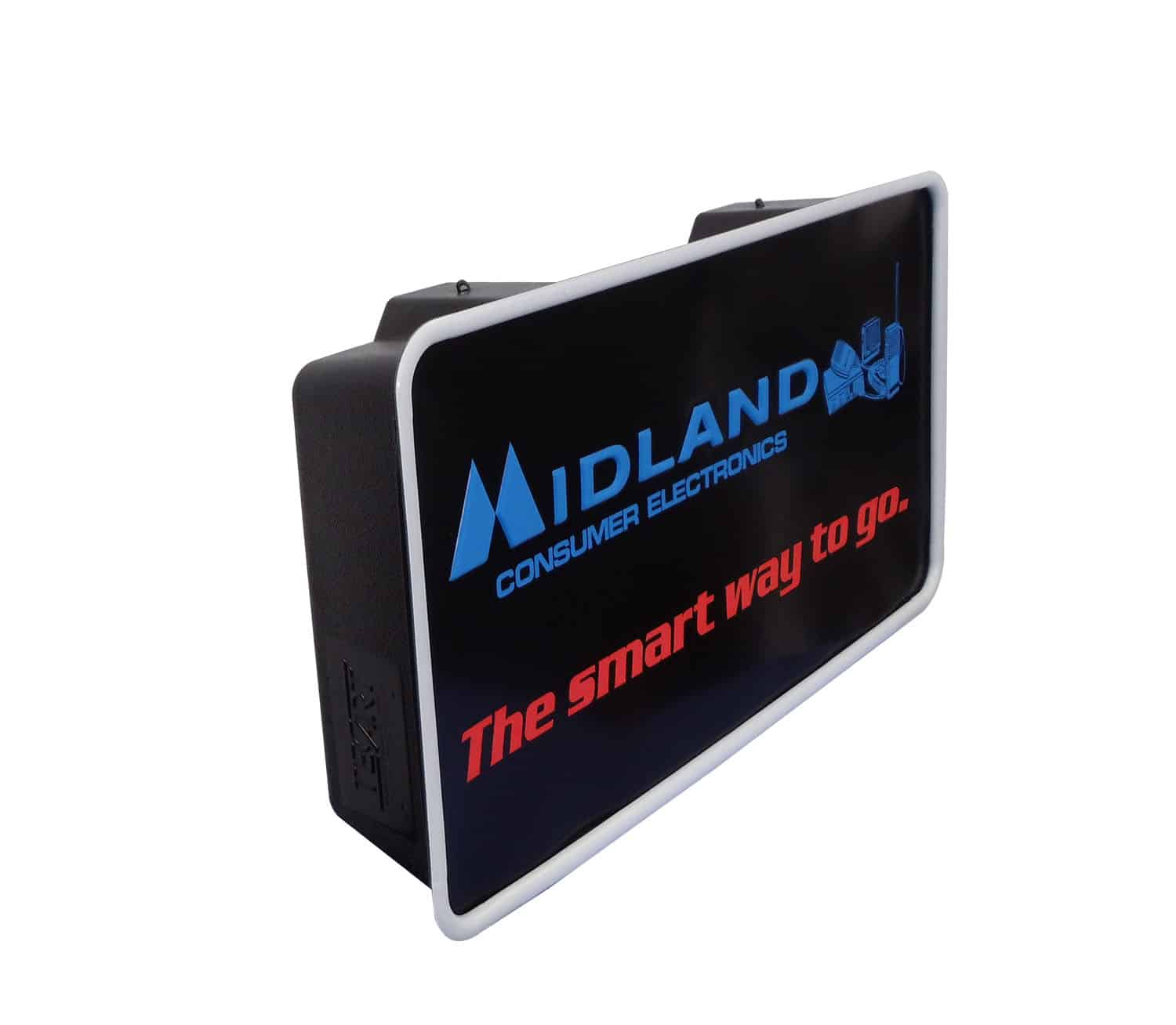 "77NEON - Midland 24"" X 13-1/2"" Back Lit Store Sign with AC Plug"