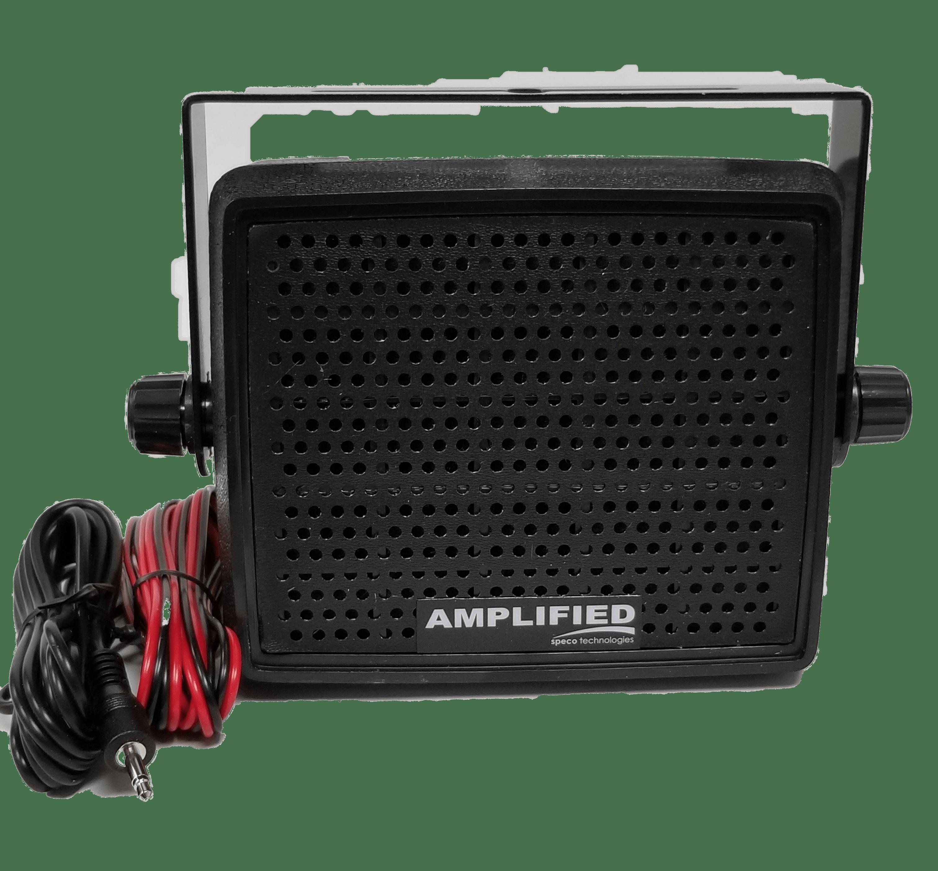 AES4 - Speco 10 Watt Amplifier External Speaker