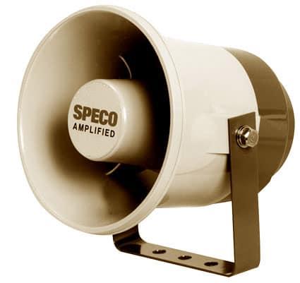 ASPC20 - Speco Outdoor Amplified PA Speaker