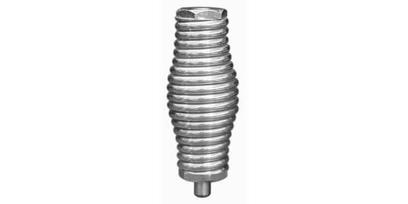 "AUC30 - Accessories Unlimited 4"" Heavy Duty Chrome Barrel Spring"
