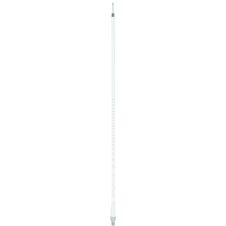 AUFLEX4-W - 4' White Superflex CB Antenna