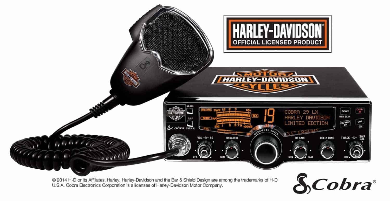 C29LXHDLE - Cobra® 29 LX Harley Davidson CB Radio