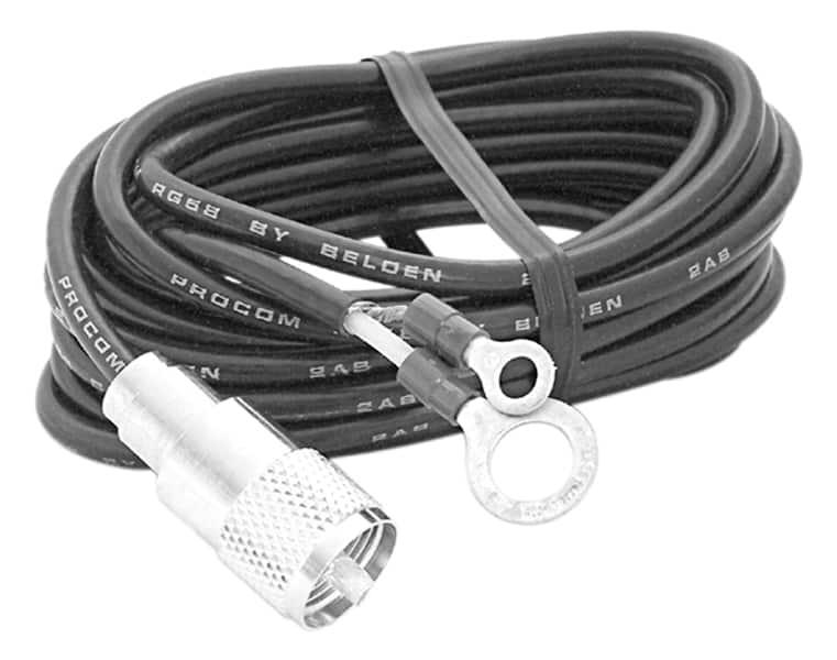 AUPL18 - 18' RG58AU Coax Cable