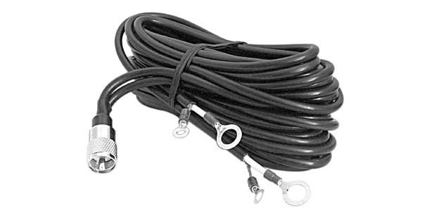 AUPLL18 - 18' Dual Lead Coax Cable