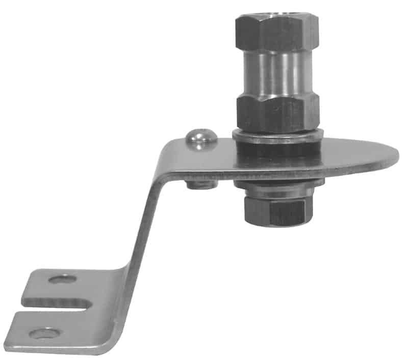 AUT2-L - Stainless Steel Fender Antenna Mount