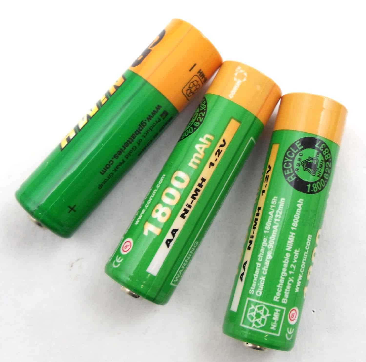 BBTY0535001 - Uniden AA 1800Mah Ni-Mh Rechargeable Batteries