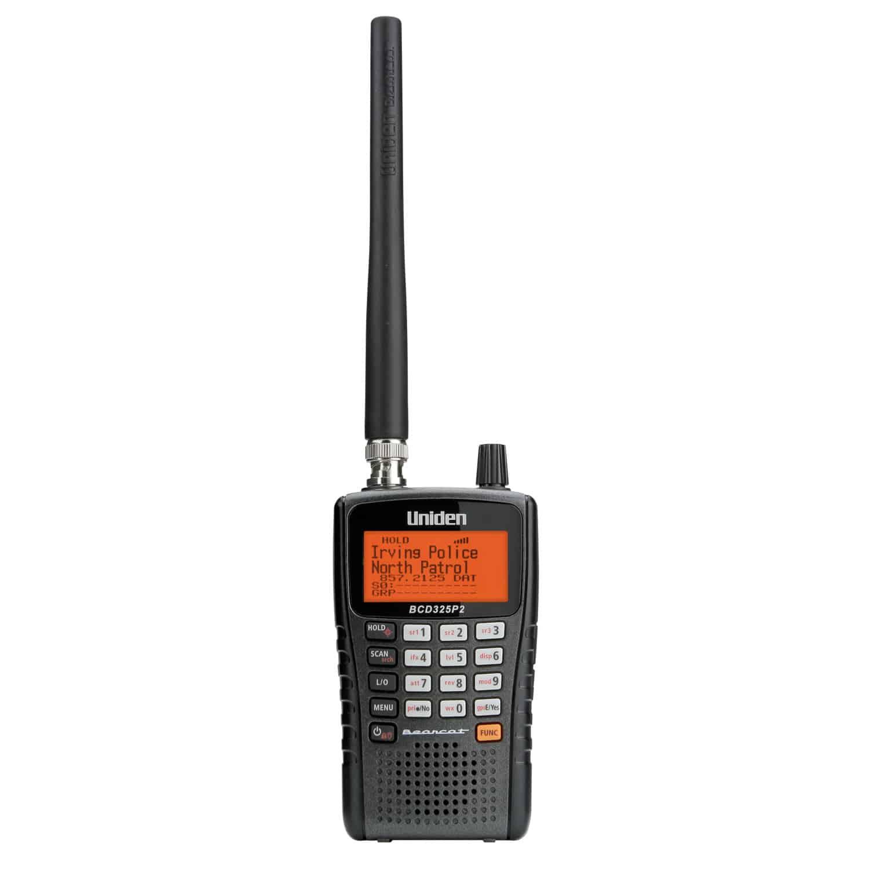 BCD325P2 - Uniden 25,000 Channel Narrow Band Handheld Digital Scanner