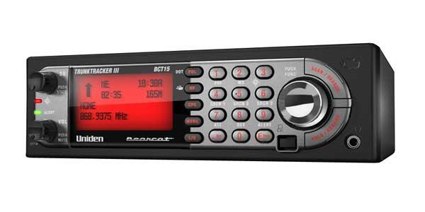 BCT15X - Uniden 9,000 Channel GPS Enabled Pre-Programmed Analog Scanner