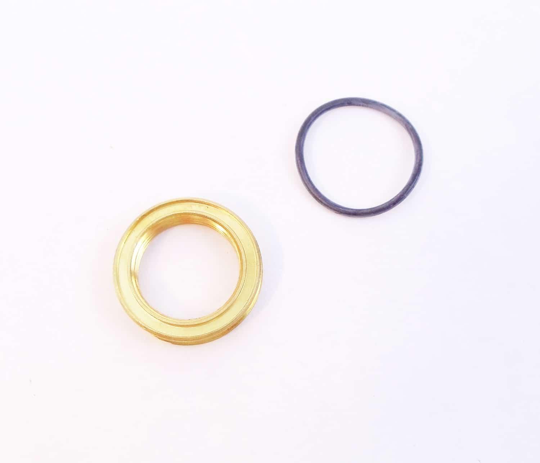"BNUT - Maxrad Brass Nut & ""O"" Ring For M Series 3/4"" Antenna Mounts"