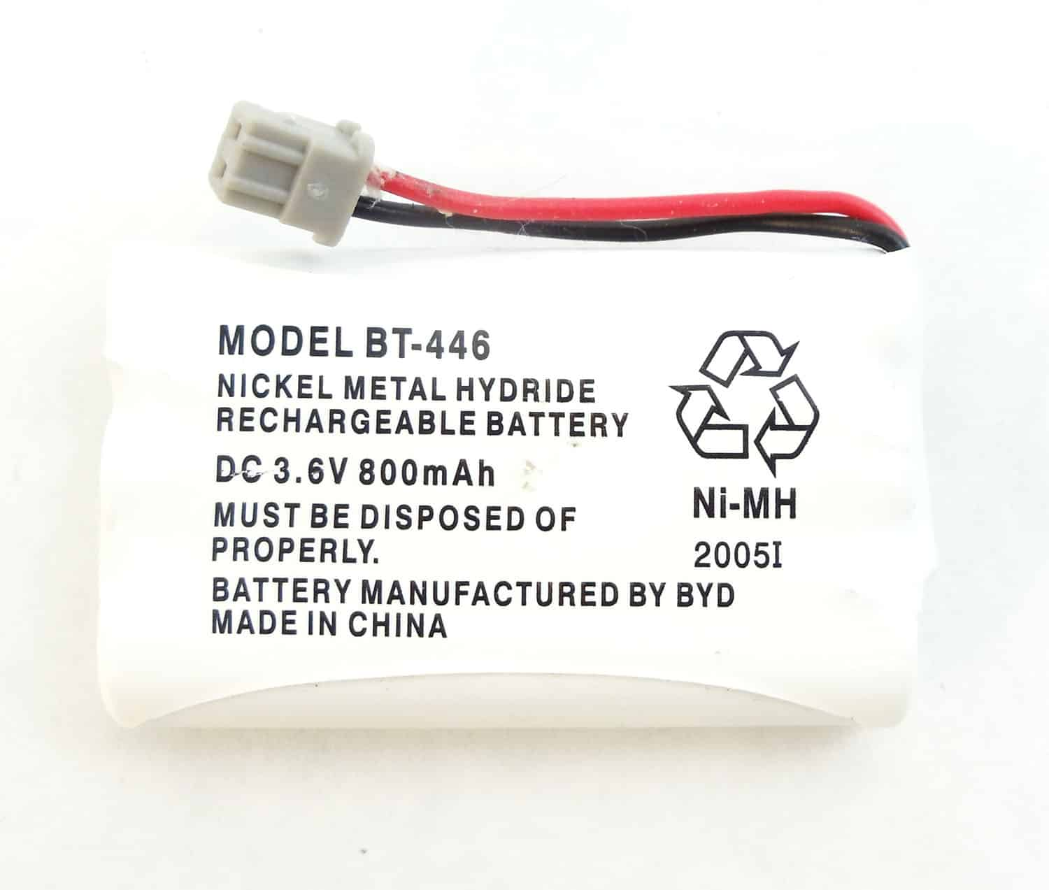 BT446 - Uniden Nickel Hydride Rechargeable Battery For T4 Series