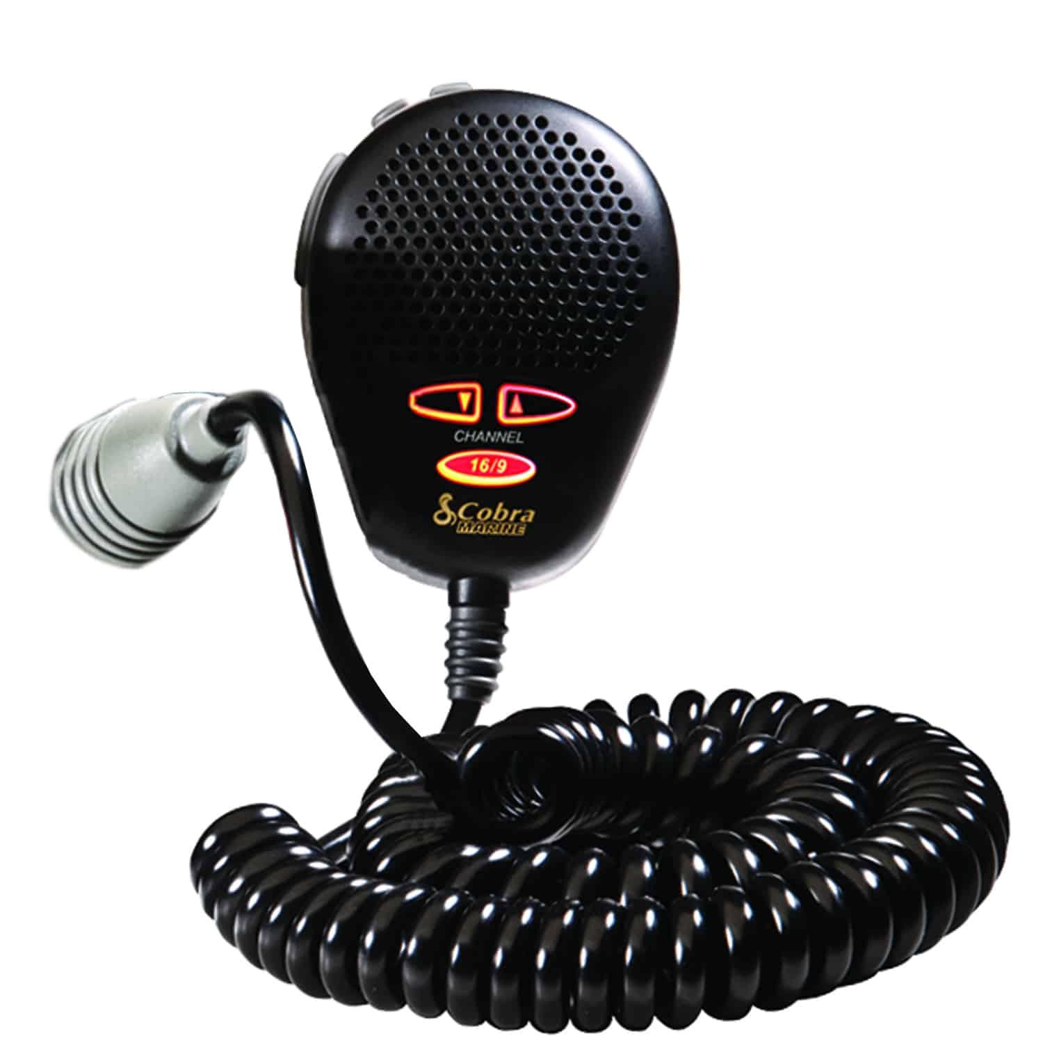 CA355B-B - Cobra® MRF45 & MRF55 Black Replacement Microphone