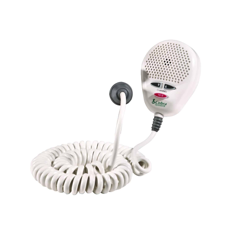 CA355B - Cobra® MRF45 & MRF55 White Replacement Microphone