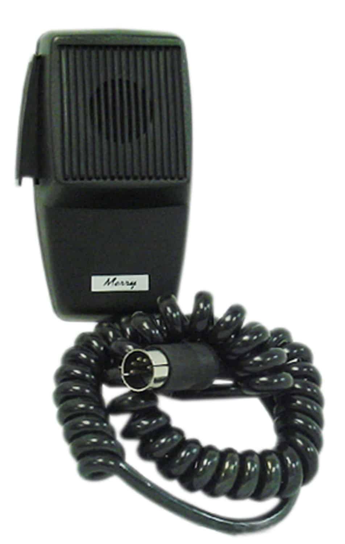 CB5DRE - 5 Pin Din Realistic Electret CB Microphone