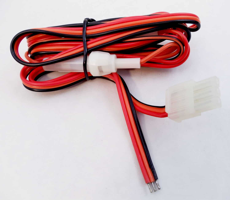 CBH3DX - Cobra® 19+ Radio 3 Wire Fused Power Cord