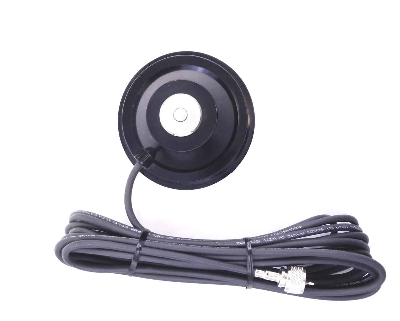 CMMA - Hustler Black NMO Magnetic Antenna Mount