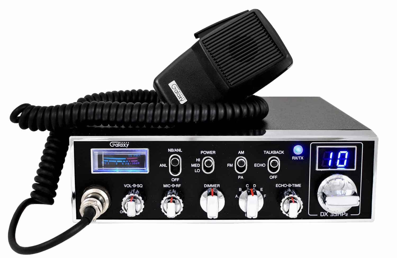 DX33HP2 - Galaxy 45 Watt 6 Band 10 Meter Mobile Radio