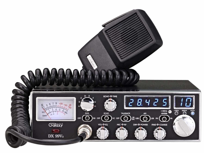 DX99V2 - Galaxy 45 Watt 10 Meter Mobile Radio