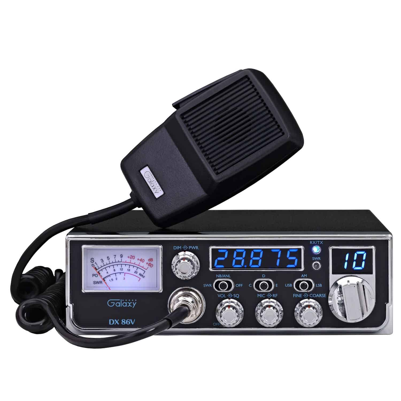 DX86V - Galaxy 45 Watt Mid-Size 10 Meter Radio with AM/SSB