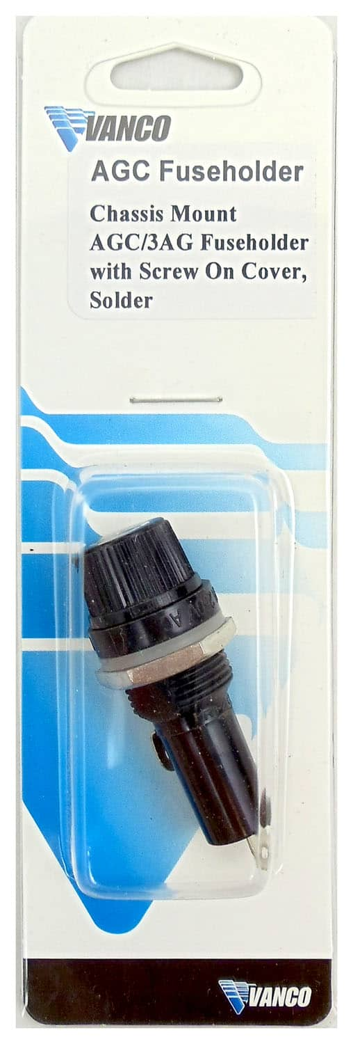 FH1 - Vanco Panel/Chassis Mount AGC Fuse Holder