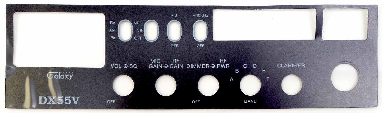 FPDX55V - Galaxy Replacement Faceplate For The Dx55V