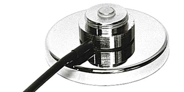 "G - Maxrad 3-1/4"" Chrome Magnet Mount"